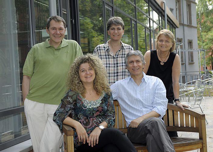 Gruppenfoto der Dozenten der italienischen Abteilung des IFA