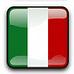 Symbol Flagge Italien