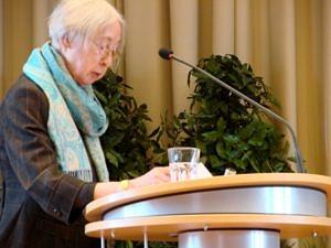 Marion Schreiber bei Ihrer Rede anlässliches des 60. Jubiläums des IFA im Jahr 2008