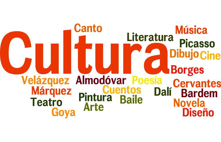 Wordle auf Spanisch über Kultur