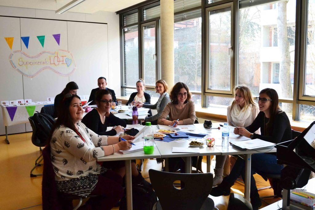 Arbeitsgruppe beim Spanisch Symposium 2017