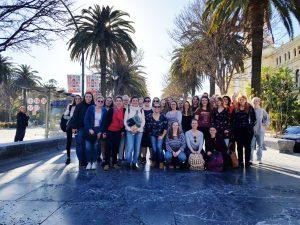 Gruppe in Granada